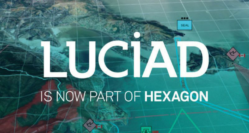 Luciad is now part of Hexagon Geospatial