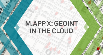 GEOINT in the Cloud
