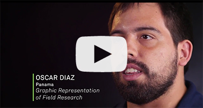 Graphic Representation of Field Research with Oscar Diaz