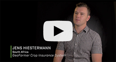 GeoFarmer Crop Insurance System with Jens Hiestermann