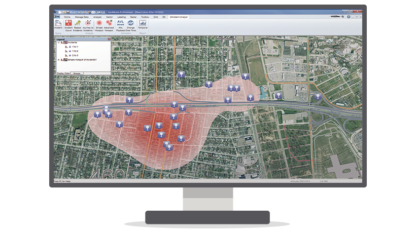 The Producer Suite empowers you to collect, process, analyze and understand raw geospatial data.