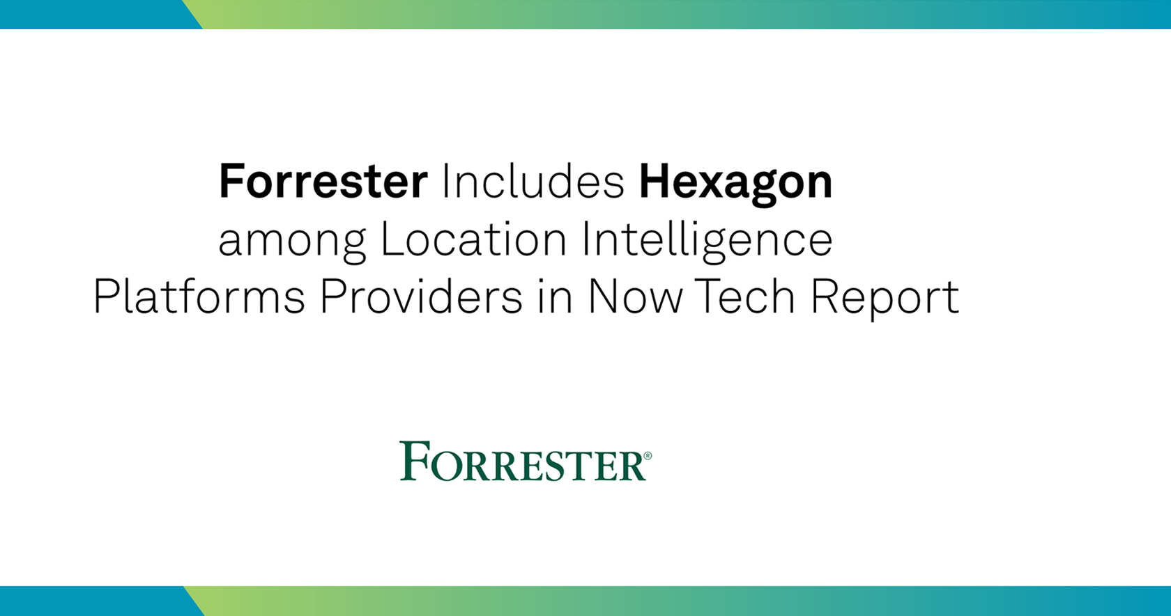 Forrester Now Tech