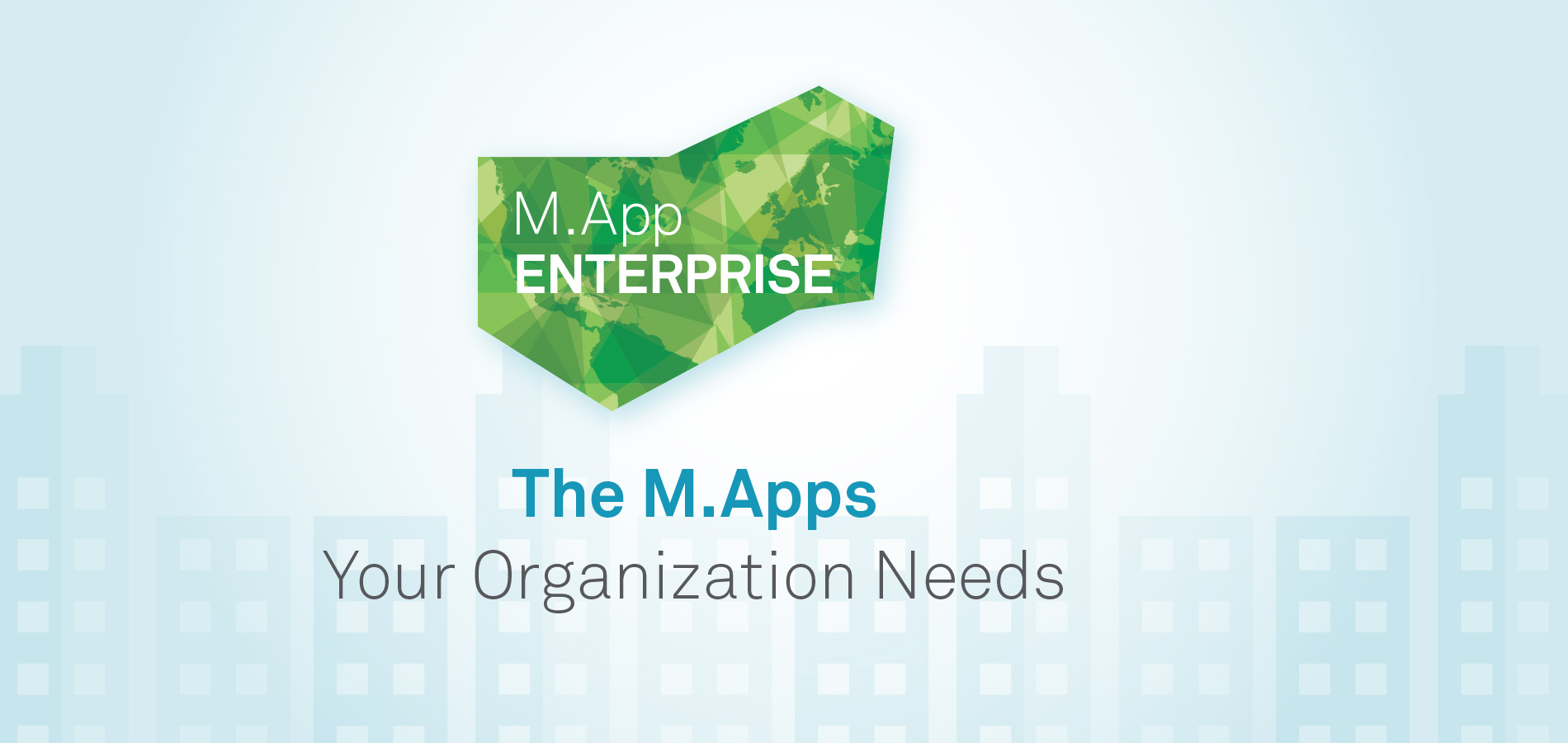 M.App Enterprise software from Hexagon Geospatial